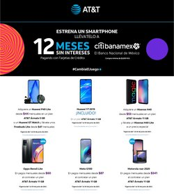 Ofertas de Electrónica y Tecnología en el catálogo de AT&T ( 5 días más)