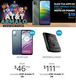 Ofertas de Motorola en el catálogo de AT&T ( 20 días más)