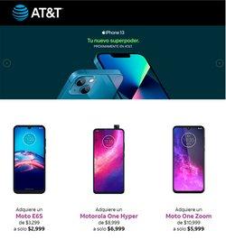 Ofertas de AT&T en el catálogo de AT&T ( Publicado ayer)