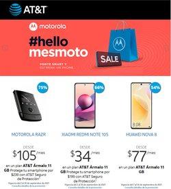 Ofertas de Motorola en el catálogo de AT&T ( Publicado ayer)