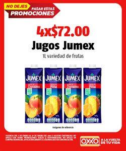 Ofertas de Jumex en OXXO