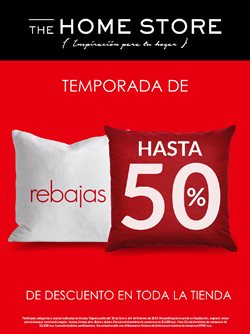 Ofertas de The Home Store  en el folleto de Guadalajara