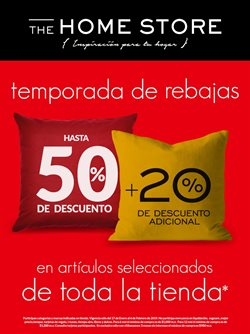 Ofertas de The Home Store  en el folleto de Mérida