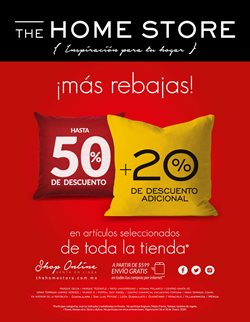 Ofertas de The Home Store  en el folleto de León