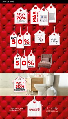 Catálogo The Home Store en Ciudad de México ( 14 días más )