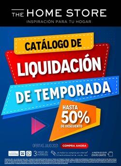 Ofertas de Tiendas Departamentales en el catálogo de The Home Store ( Vence hoy)