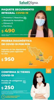 Ofertas de Farmacias y Salud en el catálogo de Salud Digna en Victoria de Durango ( 7 días más )