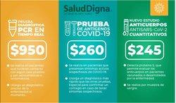 Ofertas de Farmacias y Salud en el catálogo de Salud Digna ( Publicado ayer)