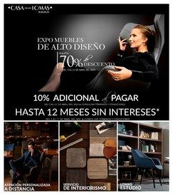 Ofertas de Hogar y Muebles en el catálogo de Casa de las Lomas en Heróica Puebla de Zaragoza ( Caduca hoy )