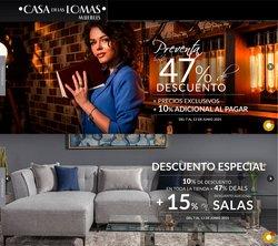 Ofertas de Hogar y Muebles en el catálogo de Casa de las Lomas ( Vence hoy)