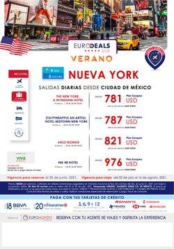 Ofertas de Viajes en el catálogo de Euromundo ( 8 días más)