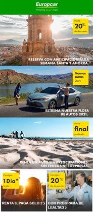 Catálogo Europcar ( 3 días publicado )