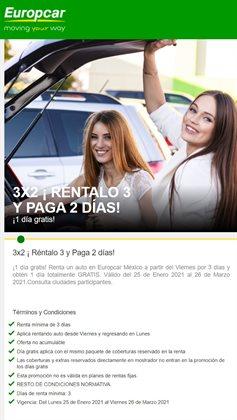 Ofertas de Europcar en el catálogo de Europcar ( Vencido)