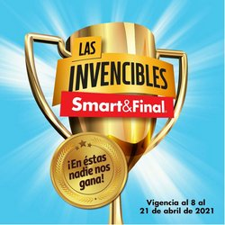 Catálogo Smart & Final ( Publicado ayer )