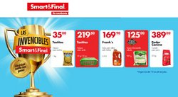 Ofertas de Smart & Final en el catálogo de Smart & Final ( 4 días más)