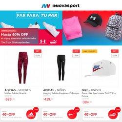 Ofertas de Innovasport en el catálogo de Innovasport ( Vence hoy)