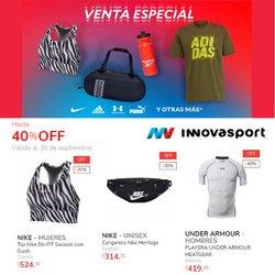 Ofertas de Deporte en el catálogo de Innovasport ( 8 días más)