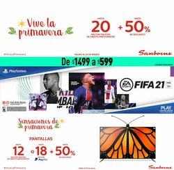 Ofertas de Tiendas Departamentales en el catálogo de Sanborns en Culiacán Rosales ( Caduca hoy )