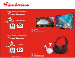Ofertas de Tiendas Departamentales en el catálogo de Sanborns ( Vence hoy)