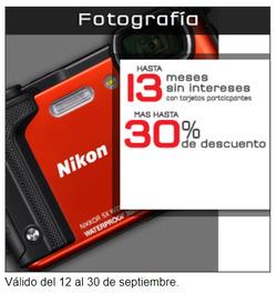 Ofertas de Sanborns  en el folleto de Xochimilco