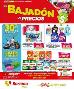 Ofertas de Hiper-Supermercados en el catálogo de Mega Soriana en Guanajuato ( 2 días publicado )