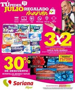 Ofertas de Hiper-Supermercados en el catálogo de Mega Soriana ( 2 días más)