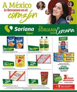 Ofertas de Hiper-Supermercados en el catálogo de Mega Soriana ( 10 días más)