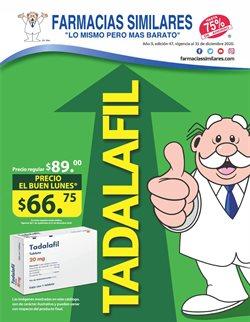Catálogo Farmacias Similares en Linares ( Caducado )