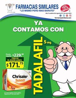 Ofertas de Farmacias y Salud en el catálogo de Farmacias Similares en Ciudad de México ( 7 días más )