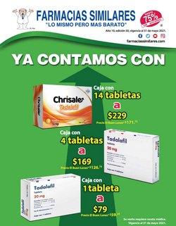 Catálogo Farmacias Similares ( 19 días más)