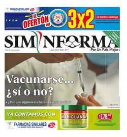 Ofertas de Farmacias Similares en el catálogo de Farmacias Similares ( 6 días más)