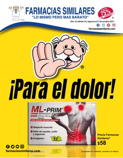 Catálogo Farmacias Similares ( 15 días más)