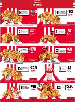 Ofertas de Restaurantes en el catálogo de KFC en Gustavo A Madero ( Publicado ayer )