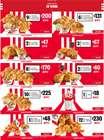 Catálogo KFC ( Más de un mes )