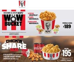 Ofertas de Restaurantes en el catálogo de KFC ( 3 días más)
