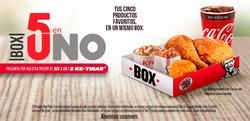 Ofertas de KFC  en el folleto de Ciudad de México