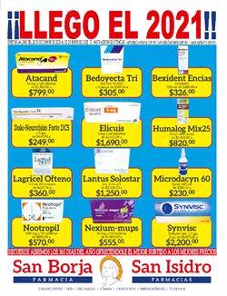 Catálogo Farmacias San Isidro y San Borja ( Caducado )
