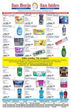 Ofertas de Farmacias y Salud en el catálogo de Farmacias San Isidro y San Borja en Gustavo A Madero ( Caduca hoy )