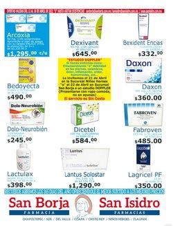 Ofertas de Farmacias y Salud en el catálogo de Farmacias San Isidro y San Borja ( Vence mañana )