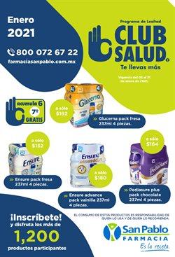 Catálogo Farmacia San Pablo en Benito Juárez (CDMX) ( 9 días más )