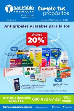 Ofertas de Farmacias y Salud en el catálogo de Farmacia San Pablo en Iztapalapa ( Vence mañana )