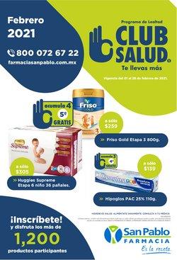 Ofertas de Farmacias y Salud en el catálogo de Farmacia San Pablo en Santiago de Querétaro ( Vence mañana )