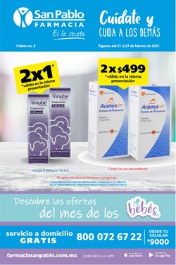 Ofertas de Perfumerías y Belleza en el catálogo de Farmacia San Pablo en Santiago de Querétaro ( Caduca hoy )
