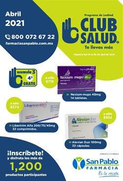 Catálogo Farmacia San Pablo ( 20 días más )