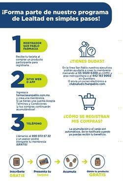 Ofertas de Farmacias y Salud en el catálogo de Farmacia San Pablo ( 13 días más )