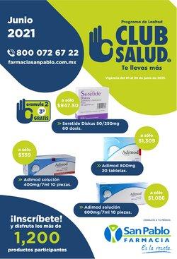 Ofertas de Farmacias y Salud en el catálogo de Farmacia San Pablo ( 13 días más)