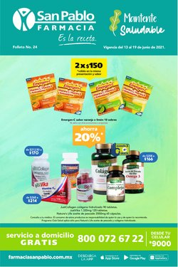 Ofertas de Farmacias y Salud en el catálogo de Farmacia San Pablo ( 2 días más)