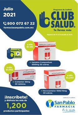 Ofertas de Farmacia San Pablo en el catálogo de Farmacia San Pablo ( 6 días más)