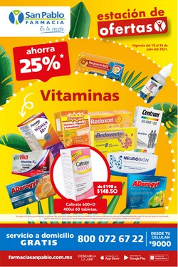 Catálogo Farmacia San Pablo ( Vence hoy)