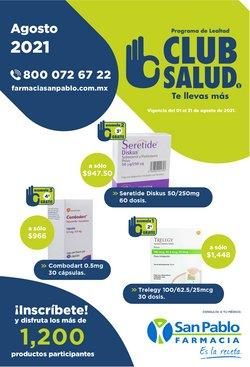Ofertas de Farmacias y Salud en el catálogo de Farmacia San Pablo ( Publicado ayer)